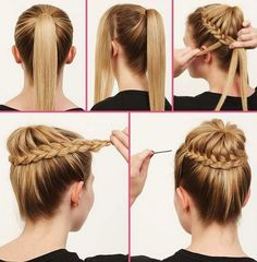 Everyday heat styling can be damaging for your hair. That's why we've gathered some of the best and elegant no heat hairstyles for you. These Hairstyles take just a few minutes and the effect is as if you've really spent much time.