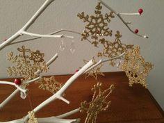 Centrotavola per Natale. Crochet