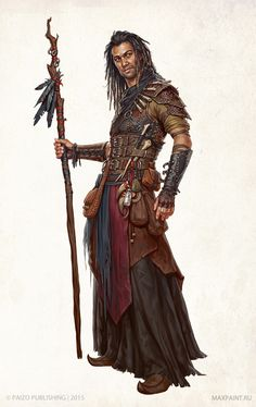 From Characters for Pathfinder by Ekaterina Burmak