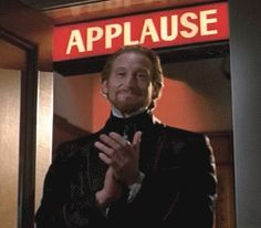 Find GIFs with the latest and newest hashtags! Search, discover and share your favorite Applause GIFs. The best GIFs are on GIPHY. 80s Movie Characters, Applause Gif, Clapping Gif, Reaction Pictures, Funny Pictures, Hand Gif, Charles Dance, Stress, New Trends