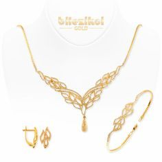 . Wedding Necklaces, Gold Wedding Jewelry, 18k Gold Jewelry, Gold Jewellery Design, Bridal Necklace, Jewelry Sets, Jewelery, Jewelry Design Drawing, Gold Set