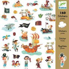 160 stickers dieren | djeco
