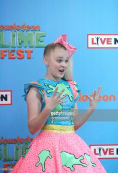 Recording Artist Jojo Siwa attends Nickelodeon SlimeFest at Huntington Bank Pavilion at Northerly Island on June 9, 2018 in Chicago, Illinois.