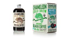 Chameleon Cold-Brew coffee packaging transforms its look | Packaging Digest
