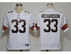 http://www.nikejordanclub.com/nike-nfl-cleveland-browns-33-richardson-white-game-jerseys-ysdaa.html NIKE NFL CLEVELAND BROWNS #33 RICHARDSON WHITE GAME JERSEYS YSDAA Only $23.00 , Free Shipping!