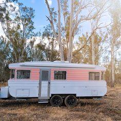 caravan hacks 552324341802993275 - How To Renovate A Vintage Caravan: The Outside Caravan Curtains, Diy Caravan, Retro Caravan, Caravan Hacks, Caravan Living, Caravan Ideas, Rv Living, Vintage Caravan Interiors, Vintage Caravans