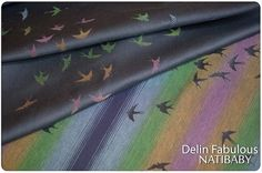 Delin Fabulous woven wrap  *My first one! I am so excited!*