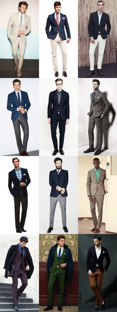 Great examples of how to #suitup #mensfashion #interchangeablewardrobe