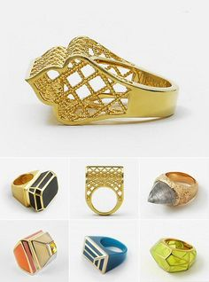 TheCarrotbox.com modern jewellery blog : obsessed with rings // feed your fingers!: Jing Jing Cao / Isharya / Zariin