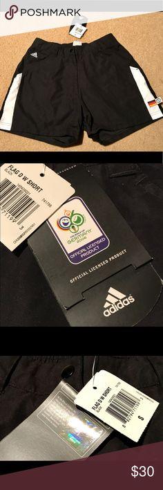 NWT ADIDAS 2006 FIFA World Cup Soccer Shorts Sz S NWT ADIDAS 2006 FIFA World Cup Soccer Shorts Women's Sz S Adidas Shorts