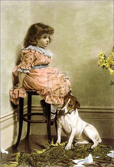 Charles Burton Barber@Mayday Mabel Reminds me of another little girl!