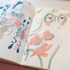 Marina Muun: Some Sketchbook Doodles!