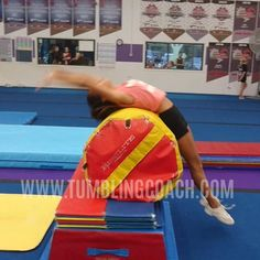 22 drills to help you master the standing back handspring in the fastest and most efficient manner without mental blocks!