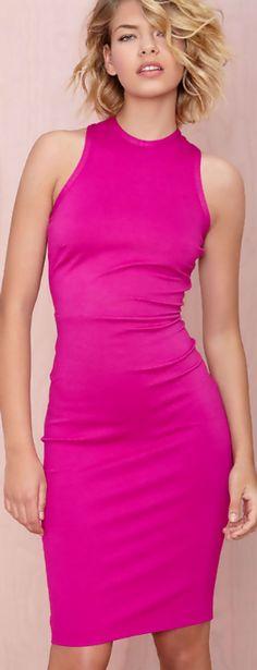 Pink,Faddoul Jasper Dress