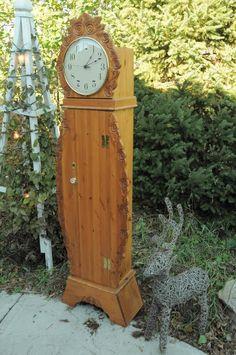Grandmother Clock, Rose Clock, Giant Wall Clock, Handmade Clocks, Antique Clocks, Vintage Clocks, Clock Art, Gifts For Office, Handmade Furniture