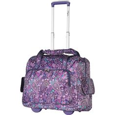 Olympia USA Deluxe Fashion Rolling Overnighter - eBags.com