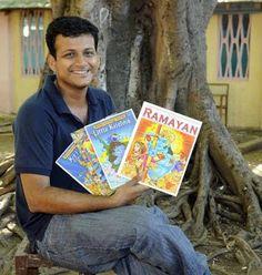 Indian Comics Fandom: Artist Gaman Palem