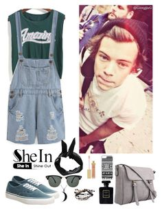 """""""Shein 10"""" by amra-f ❤ liked on Polyvore featuring Vans, CellPowerCases, Boohoo, Ray-Ban, Chanel, AERIN, Carolina Glamour Collection and Robert Lee Morris"""