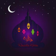 For this Ramadan on Behance Ramadan Cards, Ramadan Mubarak, Islamic Events, Muslim Ramadan, Eid Party, Ramadan Decorations, Arabic Art, Wishes Images, Islamic Pictures