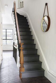 Treppe weiß-holz- anthrazit  Auch andersrum denkbar?