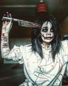 Jeff the Killer (Done by - 0_gremlin_0 on Insta) {#Creepypastacosplay #jeffthekiller #jeffthekillercosplay #creepypastacosplay #bendrowned #ticcitoby #lostsilver #masky #hoodie #marblehornets #slenderman #eyelessjack #laughingjack }