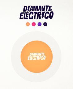 """Diamante Eléctrico – B"" Album Artwork & Logo on Behance"