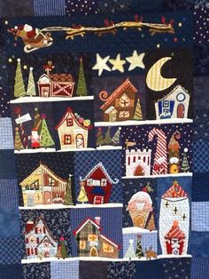 Welcome To The North Pole by Linda Souza.  Pattern by Piece O' Cake Designs.