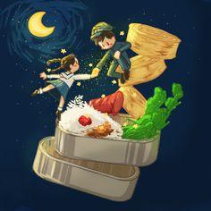 Studio Ghibli Art, Studio Ghibli Movies, Adventure Time Style, Up On Poppy Hill, Fanart, Cool Animations, Hayao Miyazaki, Princesas Disney, Aesthetic Anime