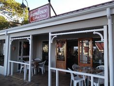The Farmhouse Coffee Shop, Somerset West. Love it - wonderful soup and light meals at affordable prices! Coffee Cafe, Coffee Shops, Somerset West, Sun City, Rustic Barn, Light Recipes, Countries Of The World, Cape Town, Beautiful Beaches