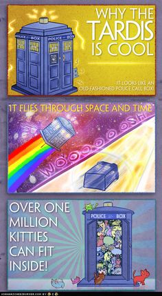 How many kitties can a TARDIS hold? A million!