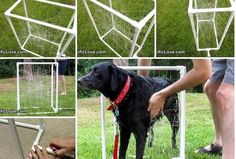How to Make PVC Dog Wash