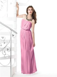 Dessy Collection Style 2829  #Pink #Bridesmaid #Dresses