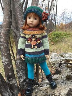 "~THANKSGIVING TUNIC!~by Tuula fits Dianna Effner 13"" Little Darling to a ""t""!"