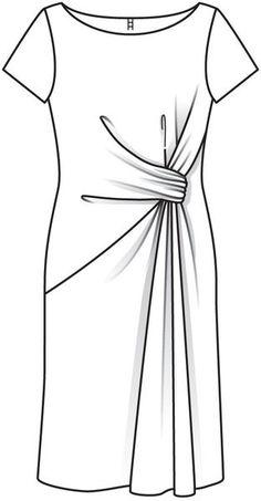Diy Clothing, Sewing Clothes, Clothing Patterns, Dress Patterns, Fashion Design Drawings, Fashion Sketches, Croquis Fashion, Fashion Portfolio Layout, Pattern Draping