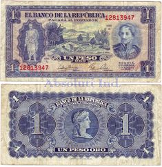 Colombia Un Peso 1953 John Wayne Western Movies, Bank Account Balance, Rare Coins Worth Money, Money Notes, Puerto Rico History, Money Worksheets, A Discovery Of Witches, Coin Worth, Childhood Memories