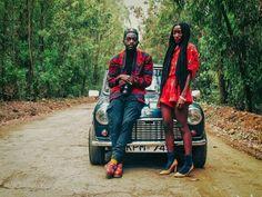 Fashion Meets Philanthropy: Kenya's 2manysiblings-Chicamod Velma Rossa and Papa Petit- The two halves of 2manysiblings