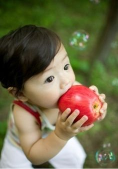 red apple!
