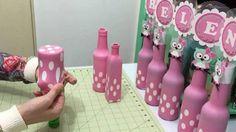 Centros de mesa que puedes hacer reciclando botellas (4) - Decoracion de Fiestas Cumpleaños Bodas, Baby shower, Bautizo, Despedidas