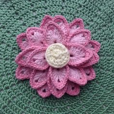 Lotus flower free crochet pattern via Ravelry // might have to incorporate this into our decor