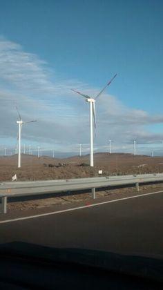 Aerogeneradores IV región Chile