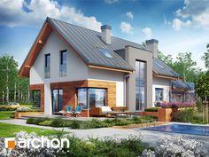 projekt Dom w moliniach (G2) widok 1