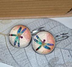 Dragonfly Earrings Earrings Resin Earrings Resin by artyscapes, $9.50