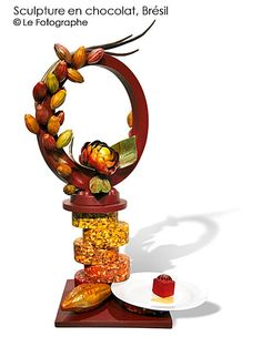 bresil-statue-chocolate sculpture