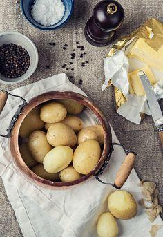 """Receta 206: Manera de cocer las patatas » 1080 Fotos de cocina - proyecto basado en el libro """"1080 recetas de cocina"""", de Simone Ortega."""