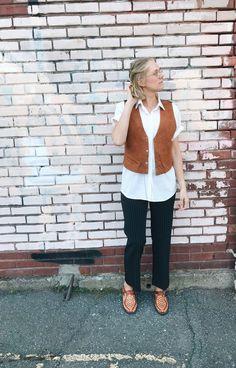 Vintage Swede Vest / Boho Vest / Swede Top / / Vest / shirt / Festival / unisex top by itsMagari on Etsy 70s Shirts, Long Cut, Summer Breeze, Vintage Buttons, Festival Fashion, Boho Dress, Hippie Boho, Denim Skirt, Vest