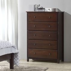 Shop for Grain Wood Furniture Shaker Solid Wood Cherry Finish Chest. Ships To Canada at Overstock - Your Online Furniture Outlet Store!