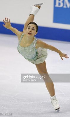 Victoria, CANADA: Finland's Susanna Poykio performs in the Womens Free Skate competiton at Skate Canada in Victoria, British Columbia, Canada, 04 November 2006. Poykio finished in fifth place. AFP PHOTO / Robyn BECK (Photo credit should read ROBYN BECK/AFP/Getty Images)