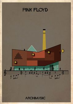 Gallery - ARCHIMUSIC: Illustrations Turn Music Into Architecture - 6