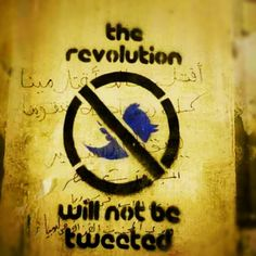 Egypt > Feb 2012 > The revolution will not be tweeted
