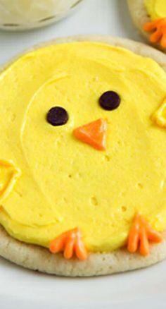 Chick Sugar Cookies
